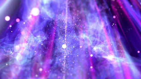 SHA Mir particle BG Violet Animation