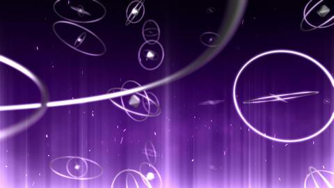 SHA Ring BG Image Violet Animation