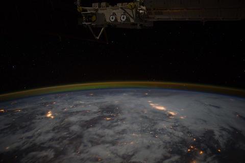 Ungraded: Western United States Towards Aurora Borealis Footage
