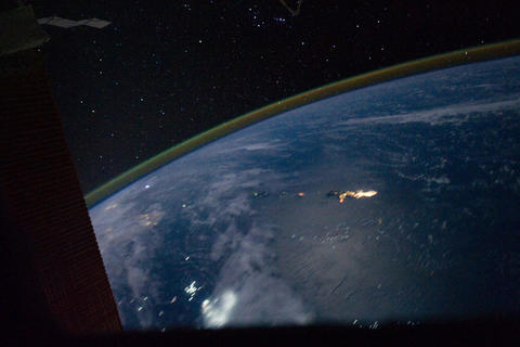 Ungraded: Pass Over Eastern Asia to Philippine Sea and Guam Footage
