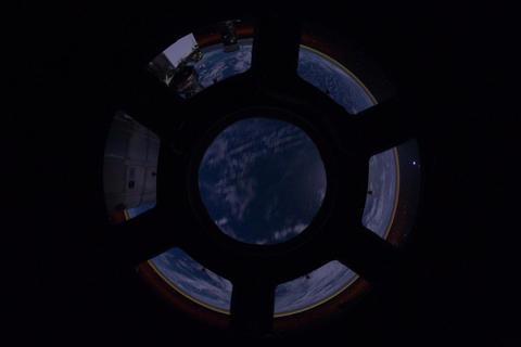 Ungraded: Pacific Ocean Through Cupola Footage