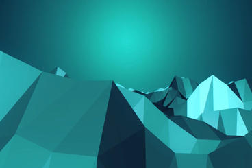 Ice mountain Plantilla de After Effects