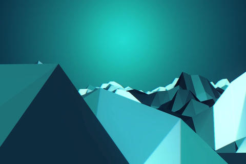 Ice mountain After Effects Template