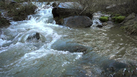Spring Mountain River Footage
