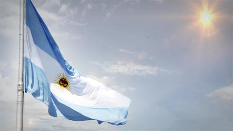 Argentine Flag Waving ビデオ