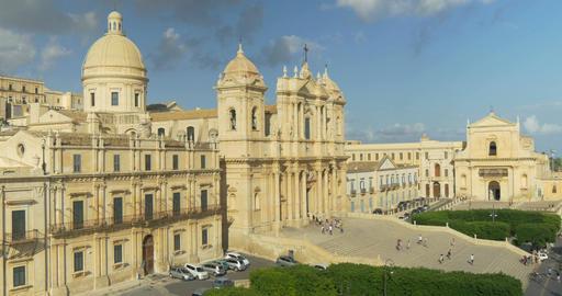 Noto Cathedral Top View Bild