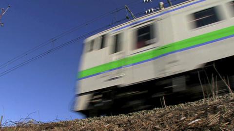one-man train Footage