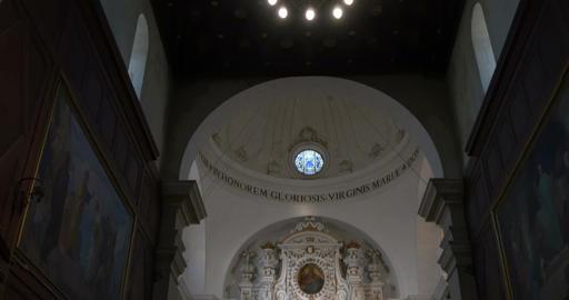 Siracusa Ortigia Cathedral Footage