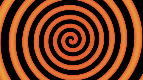 Colorful spiral in motion ready for hypnosis Animation