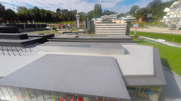 Famous miniature park and tourist attraction of Madurodam, located in The Hague Footage