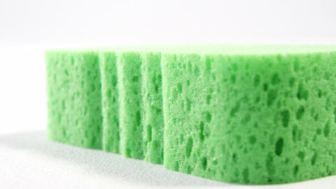 Close-up of cleaning sponge Footage
