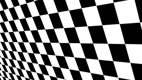 Checkered black and white Motion Background Animation