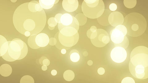 Particles gold glitter bokeh award dust abstract background loop 61 Animation