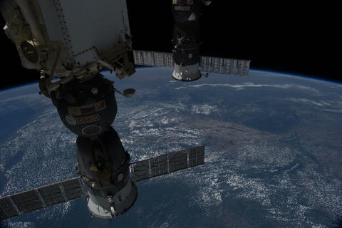 Ungraded: ISS Over Eastern United States Footage