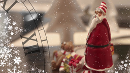 Santa Claus and Christmas Watches Footage
