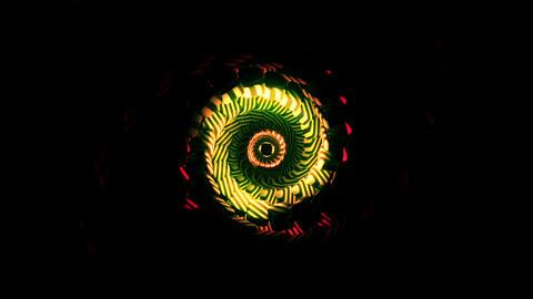 Spiral Cubes Vj Loop Animation