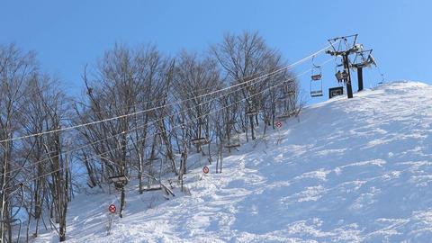 Ski lift Filmmaterial
