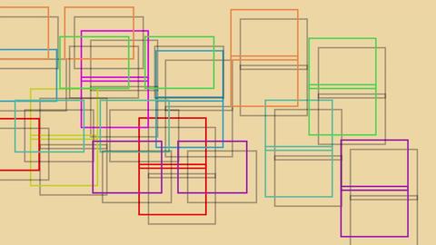 Animated squares Animation