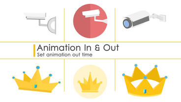 Flat I Round I Isometric Animated icons Pack (v1.0) After Effects Project