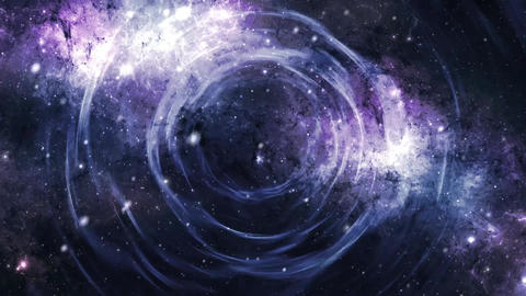 Space Tunnel Galaxy CG動画素材
