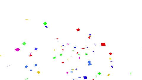 Confetti SQ 1 Slant Fix 2XcW 4k CG動画素材