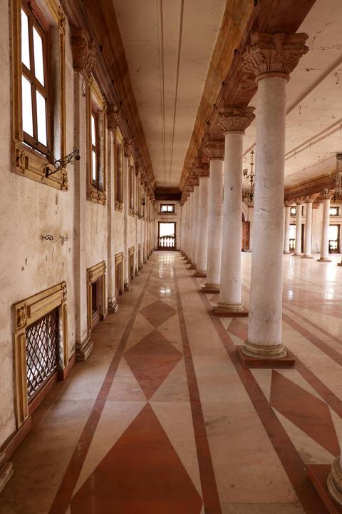Darbar Hall of Royal Palace, Indore Foto