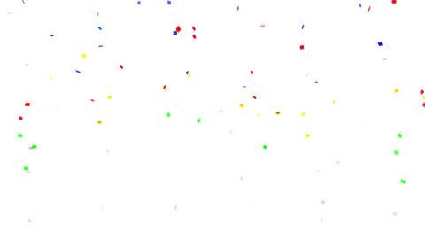 Confetti SQ 1 Verti Fix 6XcW 4k Stock Video Footage