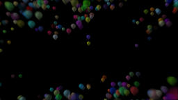Happy Birthday particles 01 Animation