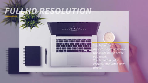 Corporate Presentation After Effects Template