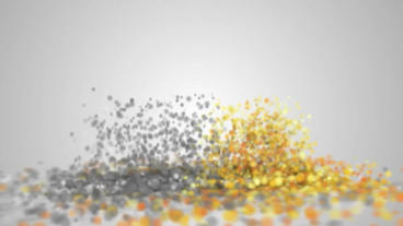 3D Particles Logo Build Up After Effects Project