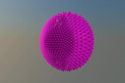 Sphere logo Pyramid 3D