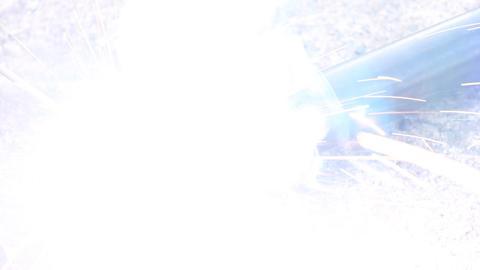 Exhaust Pipe Electric Arc Welding ライブ動画