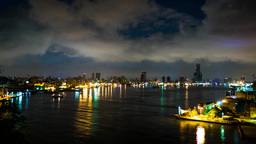 view of the city in Kaohsiung - Taiwan - Time Lapse Live影片