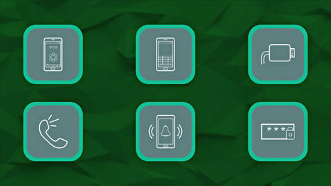 Phone Elements After Effects Template