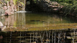 Cascade Waterfall 02 Footage