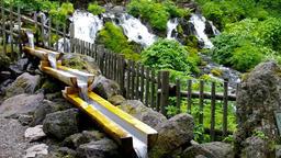 Mt Youtei spring water Hokkaido IMGP2804 Footage