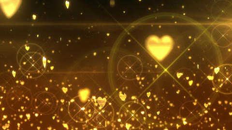 SHA Hearts Image Effects Yellow CG動画