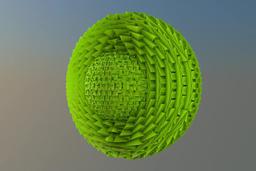 Sphere logo Paper 3D Model