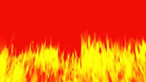 Red flame CG動画