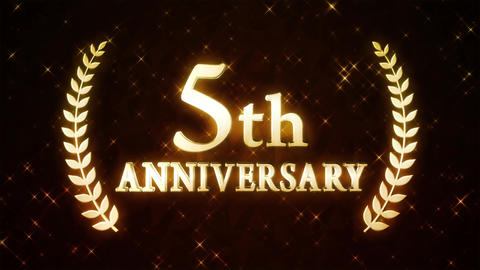 5th anniversary Animation
