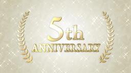 5th anniversary Animation