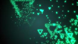 Triangular CG動画素材