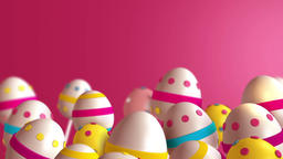 Easter Eggs (1) Stock Video Footage