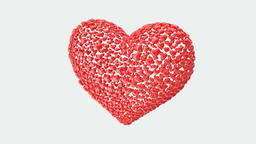 heart valentine spinning, animation, transparent background Animation
