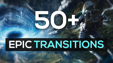 50+ Epic Transitions and Slideshow Pack (v1) After Effects Project
