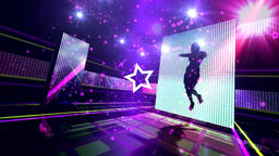 VJ Colorful Dynamic stage light dance show Animation