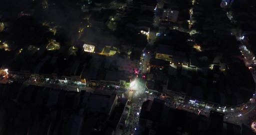 DJI MAVIC 4K Taiwan Tainan Aerial Drone Video Yanshui... Stock Video Footage