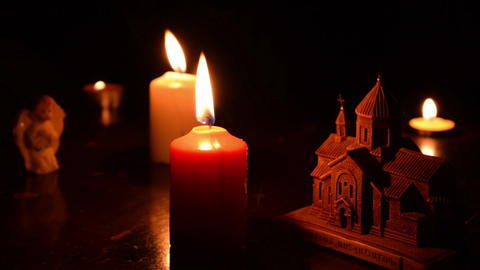 Candle and Church 1 Animation