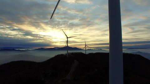 Wind gene boomup Footage
