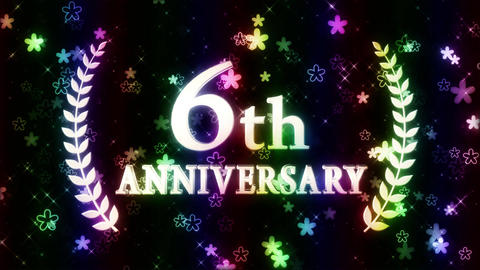 6th anniversary CG動画